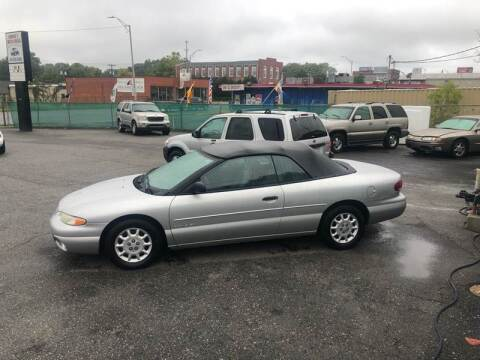 2000 Chrysler Sebring for sale at LINDER'S AUTO SALES in Gastonia NC