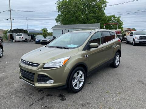 2013 Ford Escape for sale at LINDER'S AUTO SALES in Gastonia NC
