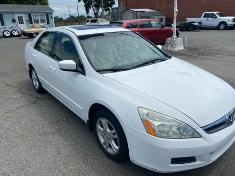 2007 Honda Accord for sale at LINDER'S AUTO SALES in Gastonia NC