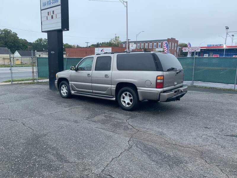 2003 GMC Yukon XL for sale at LINDER'S AUTO SALES in Gastonia NC