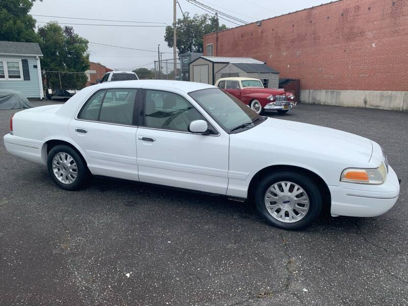 2003 Ford Crown Victoria for sale at LINDER'S AUTO SALES in Gastonia NC
