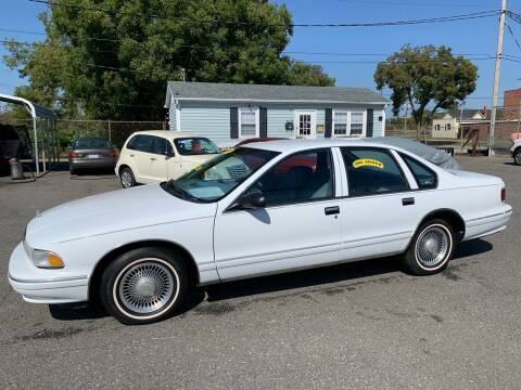 1995 Chevrolet Caprice for sale at LINDER'S AUTO SALES in Gastonia NC