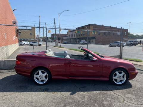 2000 Mercedes-Benz CLK for sale at LINDER'S AUTO SALES in Gastonia NC