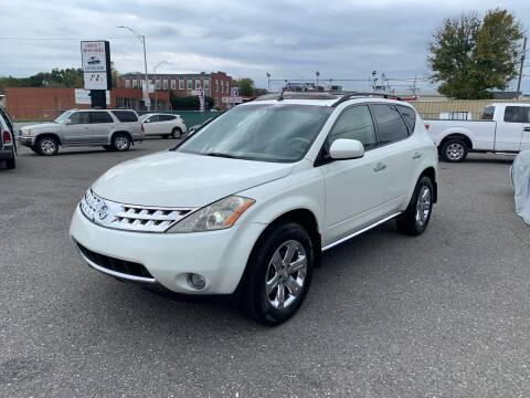 2007 Nissan Murano for sale at LINDER'S AUTO SALES in Gastonia NC