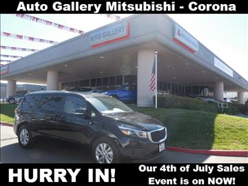 2016 Kia Sedona for sale in Corona, CA
