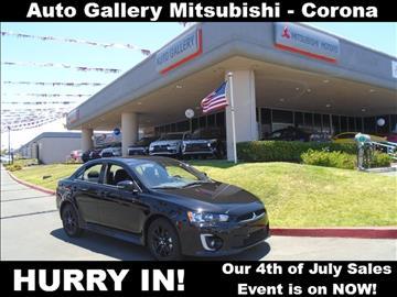 2017 Mitsubishi Lancer for sale in Corona, CA