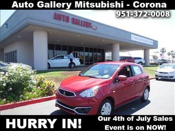 2017 Mitsubishi Mirage for sale in Corona, CA