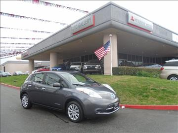 2013 Nissan LEAF for sale in Corona, CA