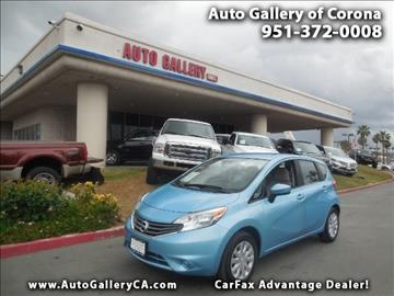 2015 Nissan Versa Note for sale in Corona, CA