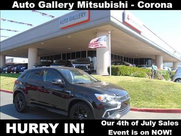 2017 Mitsubishi Outlander Sport for sale in Corona, CA