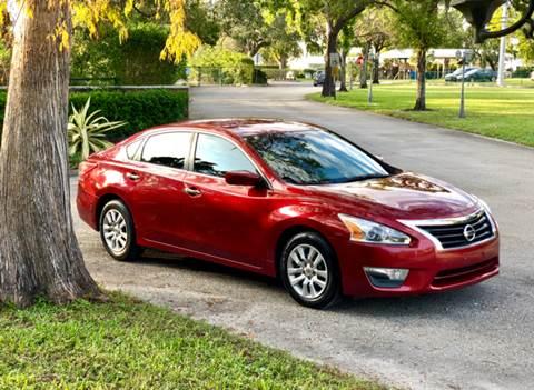 2013 Nissan Altima for sale at Sunshine Auto Sales in Oakland Park FL