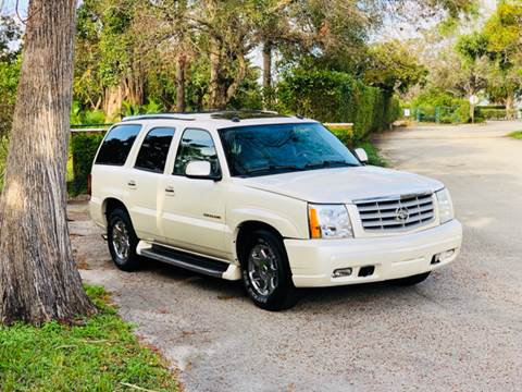 2004 Cadillac Escalade for sale at Sunshine Auto Sales in Oakland Park FL