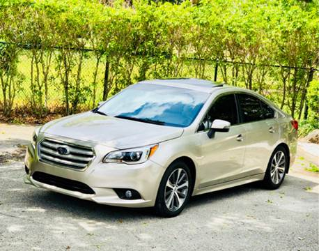 2016 Subaru Legacy for sale at Sunshine Auto Sales in Oakland Park FL