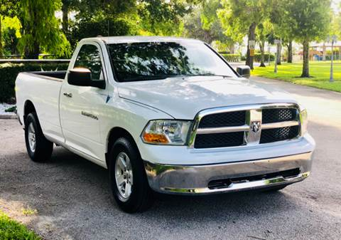 2012 RAM Ram Pickup 1500 for sale at Sunshine Auto Sales in Oakland Park FL