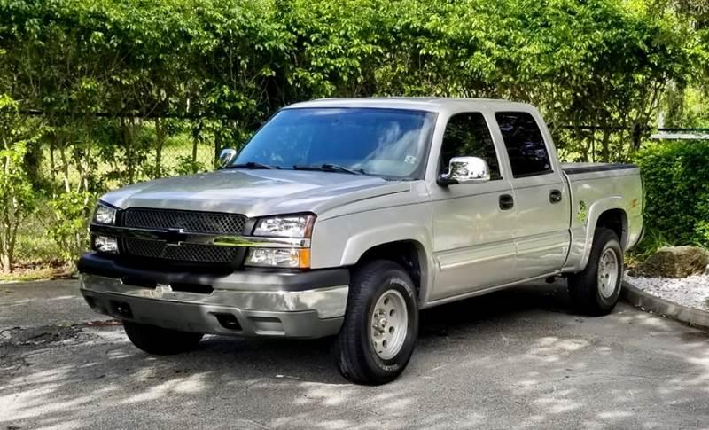 2004 Chevrolet Silverado 1500 for sale at Sunshine Auto Sales in Oakland Park FL