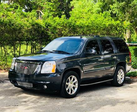 2008 GMC Yukon for sale at Sunshine Auto Sales in Oakland Park FL