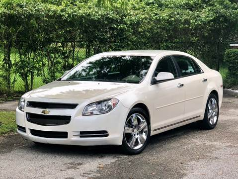 2012 Chevrolet Malibu for sale at Sunshine Auto Sales in Oakland Park FL