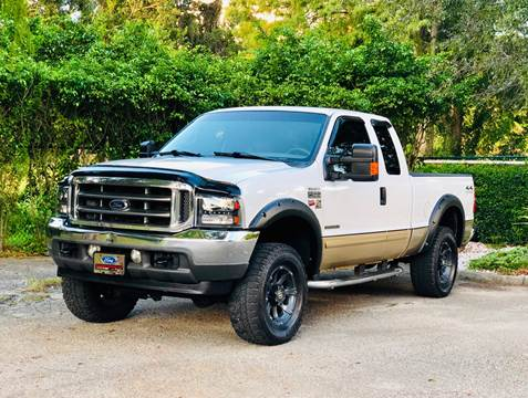 2001 Ford F-250 Super Duty for sale at Sunshine Auto Sales in Oakland Park FL