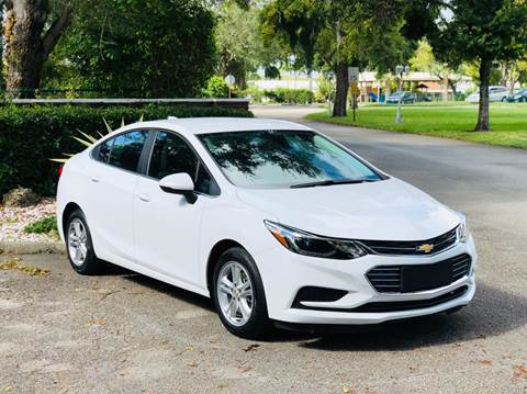 2017 Chevrolet Cruze for sale at Sunshine Auto Sales in Oakland Park FL