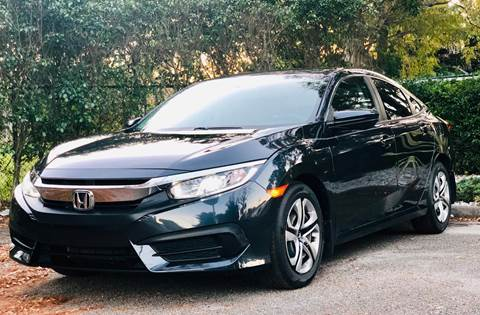2017 Honda Civic for sale at Sunshine Auto Sales in Oakland Park FL