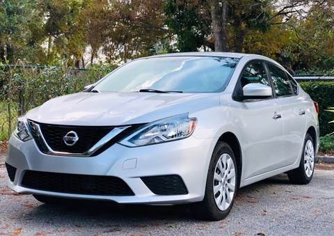 2016 Nissan Sentra for sale at Sunshine Auto Sales in Oakland Park FL