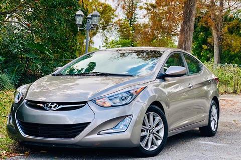 2014 Hyundai Elantra for sale at Sunshine Auto Sales in Oakland Park FL