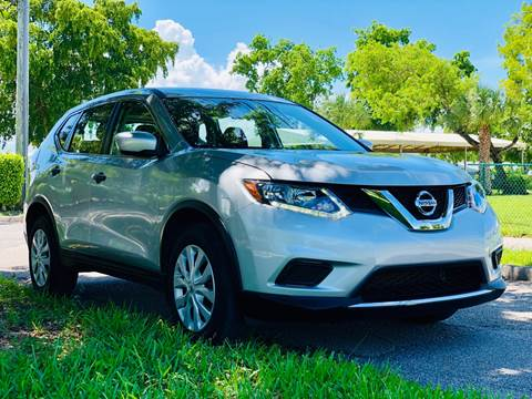 2016 Nissan Rogue for sale at Sunshine Auto Sales in Oakland Park FL