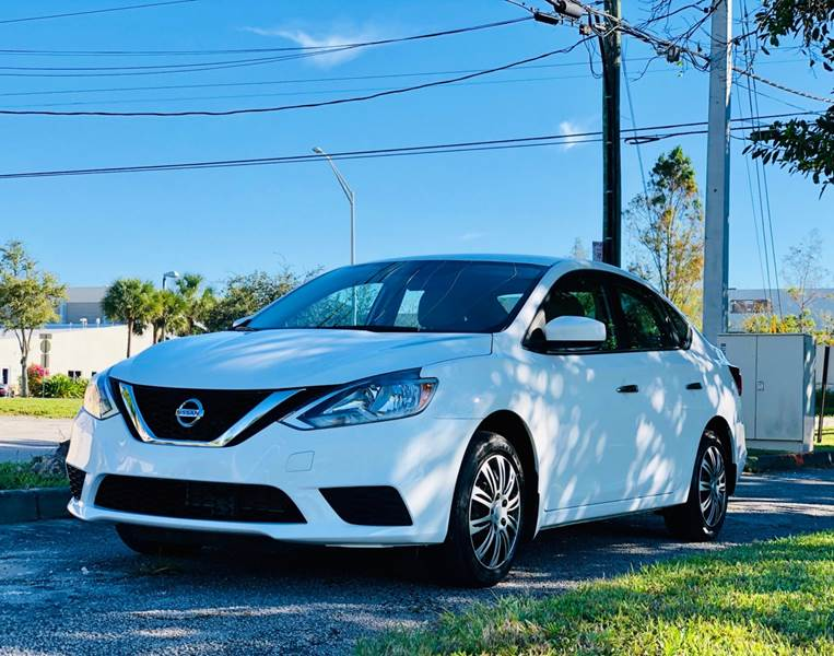 2017 Nissan Sentra for sale at Sunshine Auto Sales in Oakland Park FL