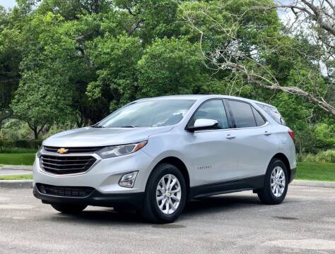 2018 Chevrolet Equinox for sale at Sunshine Auto Sales in Oakland Park FL
