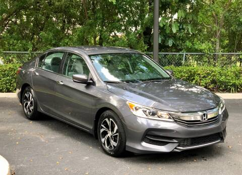 2016 Honda Accord for sale at Sunshine Auto Sales in Oakland Park FL