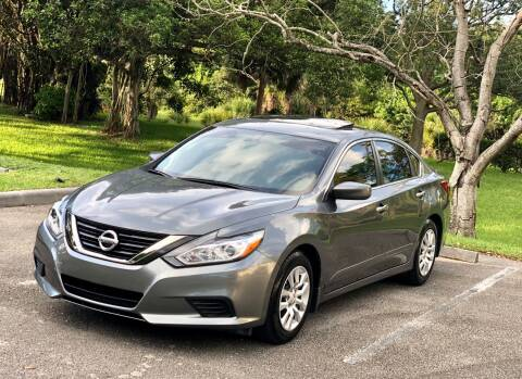 2018 Nissan Altima for sale at Sunshine Auto Sales in Oakland Park FL
