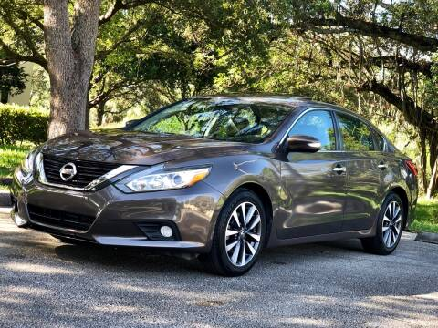 2017 Nissan Altima for sale at Sunshine Auto Sales in Oakland Park FL