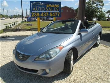 2006 Toyota Camry Solara for sale in Fort Myers Beach, FL