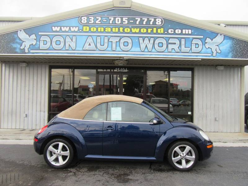 2006 Volkswagen New Beetle 2.5 2dr Convertible w/Automatic - Houston TX