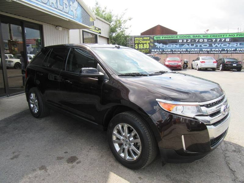 2014 Ford Edge Sel 4dr Crossover In Houston Tx Don Auto World