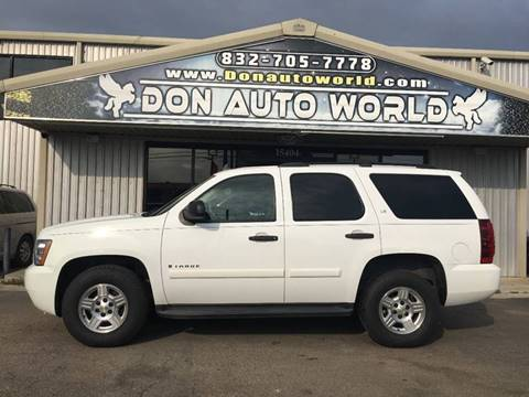 Used Chevy Tahoe >> 2008 Chevrolet Tahoe For Sale In Houston Tx