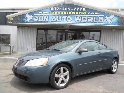 2006 Pontiac G6 for sale in Houston, TX