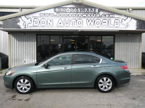 2010 Honda Accord for sale at Don Auto World in Houston TX