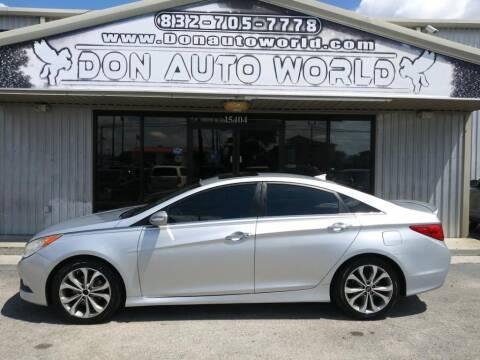 2014 Hyundai Sonata for sale at Don Auto World in Houston TX