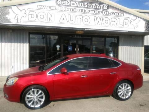 2015 Buick Verano for sale at Don Auto World in Houston TX