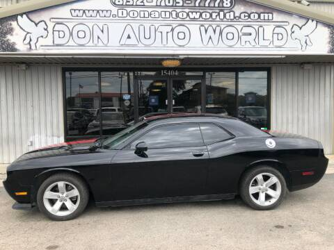 2013 Dodge Challenger for sale at Don Auto World in Houston TX