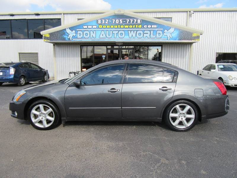 2004 Nissan Maxima for sale at Don Auto World in Houston TX