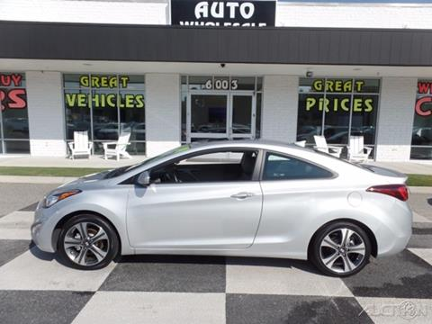 2014 Hyundai Elantra Coupe for sale in Wilmington, NC