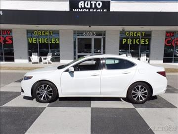 2015 Acura TLX for sale in Wilmington, NC