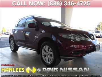 2012 Nissan Murano for sale in Davis, CA