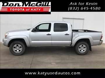 2011 Toyota Tacoma for sale in Katy, TX