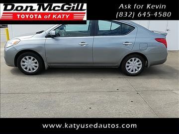 2013 Nissan Versa for sale in Katy, TX