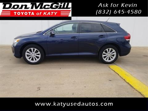 2015 Toyota Venza for sale in Katy, TX