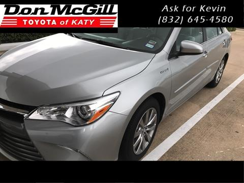2017 Toyota Camry Hybrid for sale in Katy, TX