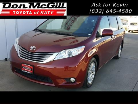 2016 Toyota Sienna for sale in Katy, TX